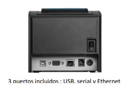 Impresora de tickets térmica TP-300 2