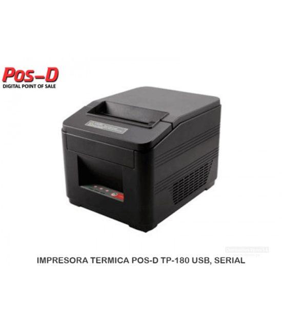 Impresora de tickets térmica TP-180 3