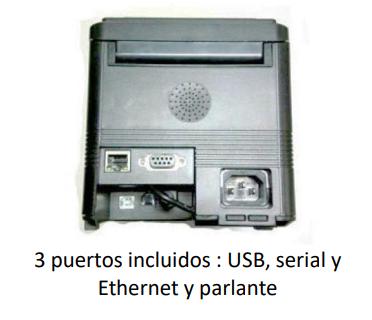 Impresora de tickets térmica TP-300 F 3