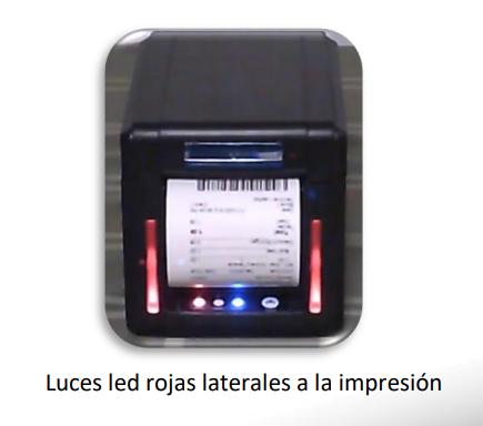 Impresora de tickets térmica TP-300 F 2